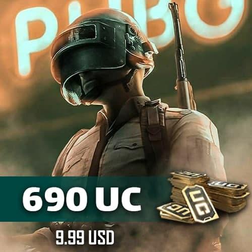 خرید 690 یوسی پابجی موبایل